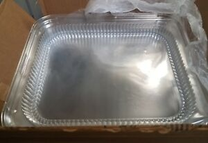 Plastic Lid For Half size Steam Table Pan Case Of 100 handi foil free Shipping