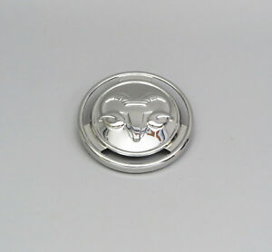1954 1955 1956 Dodge Pickup Town Wagon Panel Truck Ram Head Hood Badge 6 Six