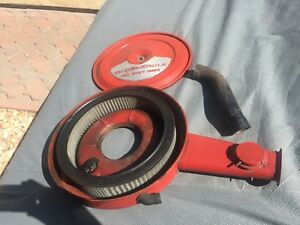 Oldsmobile 4 Barrel Air Cleaner With Filter And Heat Riser Pipe