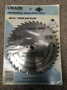Crain 804 6 1 2 Super Saw Blade