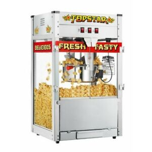 Great Northern Topstar Style Popcorn Popper Machine Commercial Quality Bar New