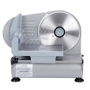 7 5 Blade Commercial Meat Slicer Deli Meat Cheese Food Slicer Cheese Ham Bread