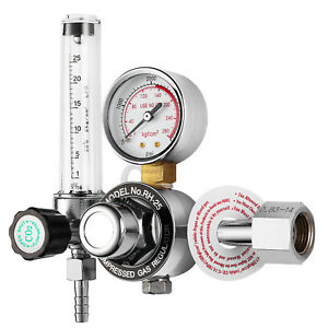 Hitbox Tig Co2 Gauge Regulator Flow Meter Regulator Co2 Welder Flowmeter Gauge