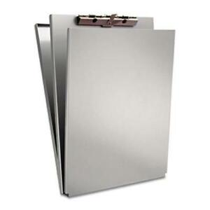 Aluminum Document Form Holder Silver Recycled Storage With High tension Clip