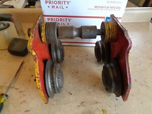 Manual C m 7927 Chain Hoist I beam Mount Trolley 1000 Lbs 1 2 Ton Capacity 7
