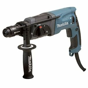 Makita Hr2470ft Sds Plus 780 W Chisel Punch And Interchangeable Chuck Drill