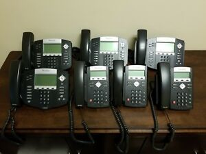 Polycom Voip Phones 550 And 335 Lot Of 7