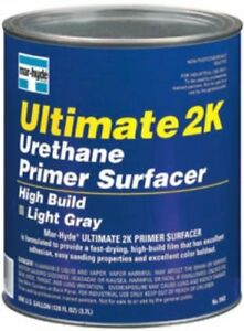 Mar Hyde Ultimate 2k Urethane Tintable Primer Surfacer Gray 1 Gallon