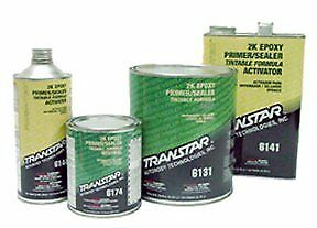 Transtar 2k Epoxy Primer Black 1 gallon tre 6161