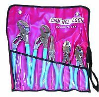 Channellock Cha431kb 5 Piece Pliers Set In Kit Bag