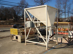 78 X 60 X 49 Steel Actuated Dump Hopper Collection Container Bin fair