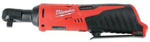 Milwaukee 2457 20 M12 Cordless 3 8quot Sub Compact 35 Ft Lbs 250 Rpm Ratchet W