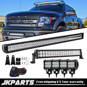 For Jeep Wrangler Jk 50inch 700w 20 Led Work Light Bar 4x 4 mount Bracket