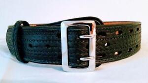 Pando Leather Sam Browne Police Belts Sizes 28 48 Free Shipping Usa