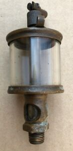 Antique Lunkenheimer Gravity Oiler No 1 1 2 1 4 Npt Used Hit And Miss Engine