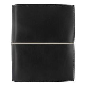 Filofax 2018 Domino Organizer A5 8 25 X 5 75 Black Planner With To Do And And