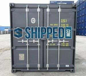 Best Deal We Deliver 20 New one Trip Shipping Container In Indianapolis In