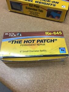 Blackjack Tire Repair The Hot Patch 6 Small Dia Tire Repair Refills Re 645