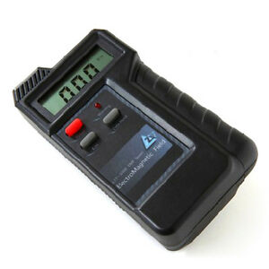 Didital Electromagnetic Radiation Detector Meter Electric Magnetic Field Tester