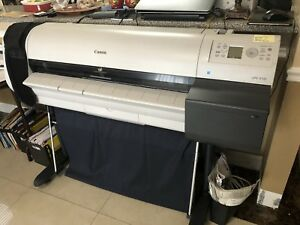 Canon Ipf710 Large Format 36 Color Inkjet Printer Plotter