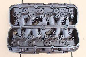 Pro Topline Big Block Chevy Rectangle Port Performance Cylinder Heads Steel Bbc