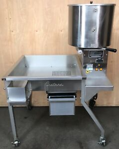 Used Cretors Cdm50dr Caramelizer On 33 Production Table Carmel Popcorn Maker