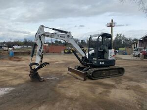 2012 Bobcat E45 Mini excavator 1 780 Hrs ex Rental Unit clean And Work Ready