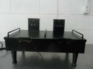 Bunn 2sh Dual Heating Stand Black For Use With Softheat Pots