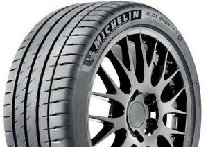2 New Michelin Pilot Sport 4 S 99y 30k Mile Tires 2554018 255 40 18 25540r18