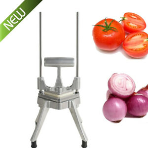New Restaurant Commercial Vegetable Fruit Dicer Onion Tomato Cut Slicer Chopper