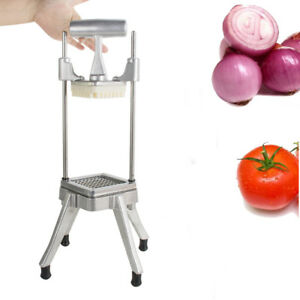 Restaurant Commercial Vegetable Fruit Dicer Onion Tomato Cut Slicer Chopper Good