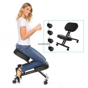 Kneeling Chair Ergonomic Knee Stool Home Office Relieving Comfortable Cushions