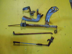 1955 Buick 322 Nailhead Brackets Linkages Engine Parts Dipstick Tube Misc