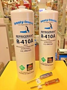 New Air Conditioner Refrigerant 410a R410a Two 2 28 Z Cans R 410 Pure New