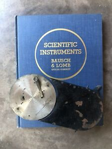 Early Nyc Rochester Ny Bausch Lomb Optical Scientific Photography Microscope