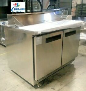 New 48 Commercial Refrigerator Model Tfp48m 21 Station Sandwich Salad Prep Nsf