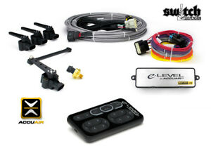 Accuair E level Digital Leveling Air Suspension Control System W Black Touchpad