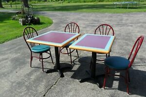 Restaurant Style Tables And Chairs