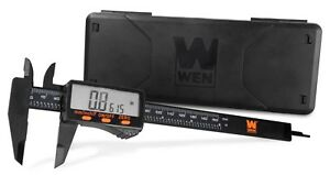 Wen 10761 Electronic 6 1 inch Digital Caliper With Lcd Readout And Storage Case