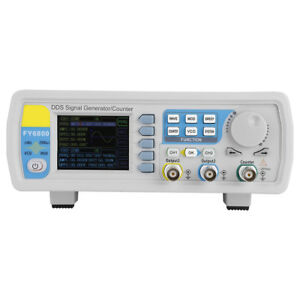 Fy6800 30 60mhz Function Arbitrary Waveform Pulse Dds Signal Generator 2 channel