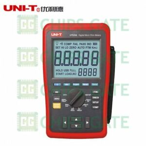 1pcs Ut620b 10u Lcd Counts 60000 Digital Micro Ohm Meter New Uni t