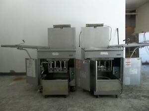 Pitco 24 Rufm Commercial High Volume Donut Fryer With Filtration System