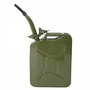 5 Gallon Us Jerry Can Gas Storage Can Metal Army Green