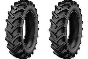 Two New 5 00 15 Starmaxx Tr 60 R 1 Lug Compact Farm Tractor Tires