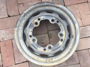 Porsche 356 Wheel 4 1 2 X 15 Kpz Date Stamped 12 60 Fl 15 Modified