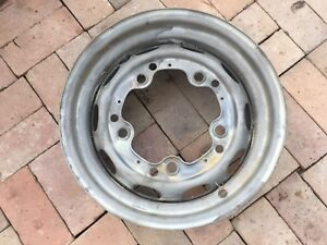 Porsche 356 Wheel 4 1 2 X 15 Kpz Date Stamped 3 57 Fl 17 Modified