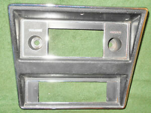 1971 1972 1973 Cougar Hardtop Cj Gt Xr7 Convertible Orig Radio Heater Trim Bezel