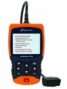 Actron Cp9680 Autoscanner Plus Codeconnect With Abs Airbag Coverage