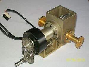 40 60 Ghz Wr19 Waveguide Microwave Rotary Vane Attenuator