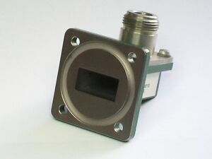Fmi Flann Microwave Wr75 10 15 Ghz Microwave Waveguide Adapter Square Flange